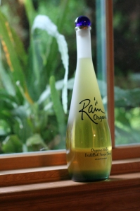 Limoncello - Finished Bottle on the Windowsill